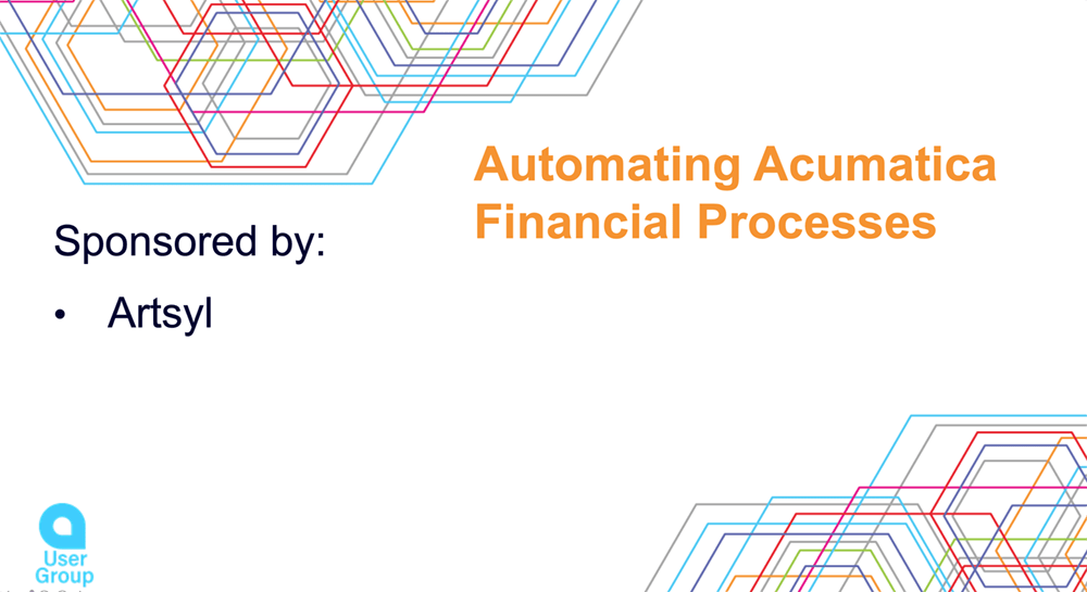 Automate Acumatica Financial Processes