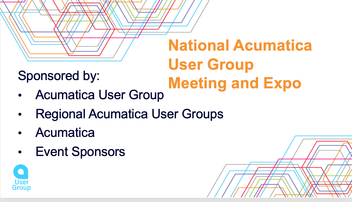 National Acumatica User Group Meeting and Expo Atlanta