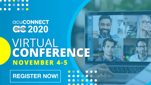 acuCONNECT 2020 Register Now