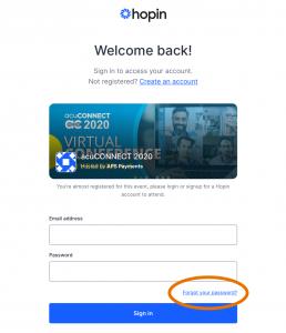 acuCONNECT 2020 FAQ Create Account
