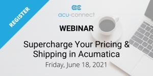 Pricing Shipping Acumatica