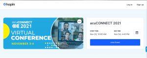 acuCONNECT 2021 Registration